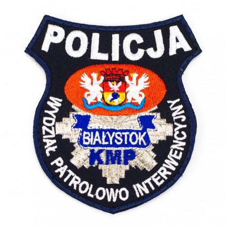 Emblemat Wydział Patrolowo Interwencyjny KMP Białystok
