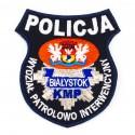 Emblemat Komenda Miejska Policji Białystok Wydział Patrolowo Interwencyjny