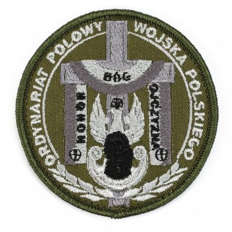 Emblemat Ordynariat Polowy Wojska Polskiego gaszony