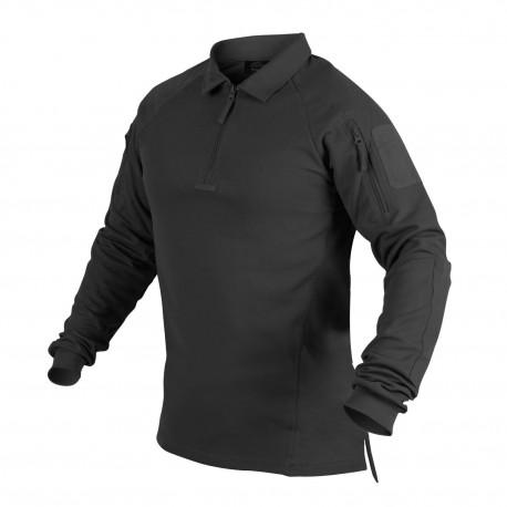 Koszulka Helikon Polo RANGE Czarny