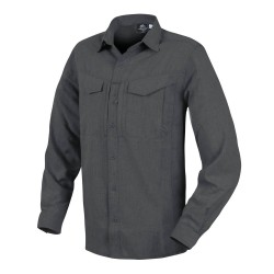 Koszula Helikon-Tex Defender Mk2 Gentleman Long Sleeve melange Black-Grey