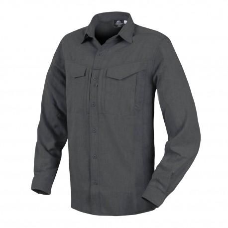 Koszula Helikon-Tex Defender Mk2 Gentleman Long Sleeve melange Black-Grey