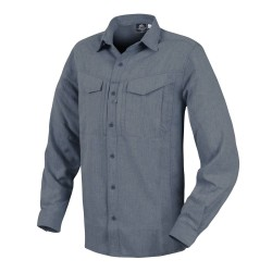 Koszula Helikon-Tex Defender Mk2 Gentleman Long Sleeve Melange Blue