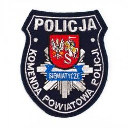 Emblemat Komenda Powiatowa Policji Siemiatycze