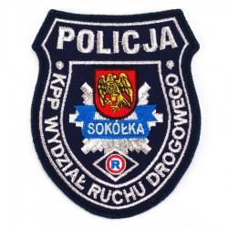 Emblemat Komenda Powiatowa Policji Sokółka Ruch Drogowy