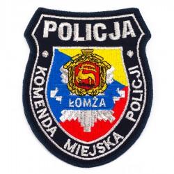 Emblemat Komenda Miejska Policji Łomża