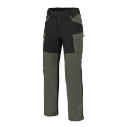 Spodnie Helikon-Tex Hybrid Outback Pants DuraCanvas Taiga Green / Czarne A