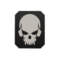 Naszywka 3D Pirateskull Black
