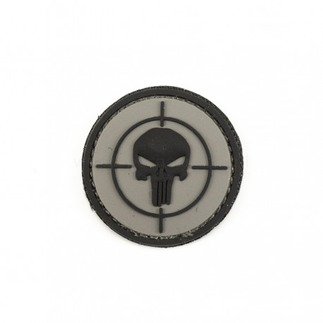 Naszywka 3D Punisher sight grey