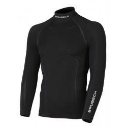 Bluza Brubeck Wool męska Gat.I czarna LS11920