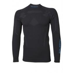 Bluza Brubeck Thermo męska długi rękaw czarna LS13040