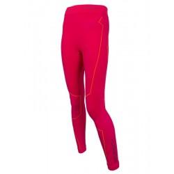 Spodnie Brubeck Thermo damskie długa nogawka malinowe LS11870