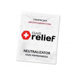 Chusteczki Gas Relief neutralizujące