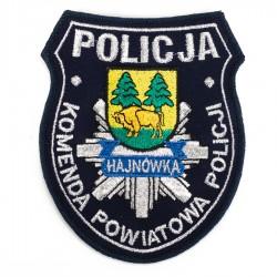 Emblemat Komenda Powiatowa Policji Hajnówka