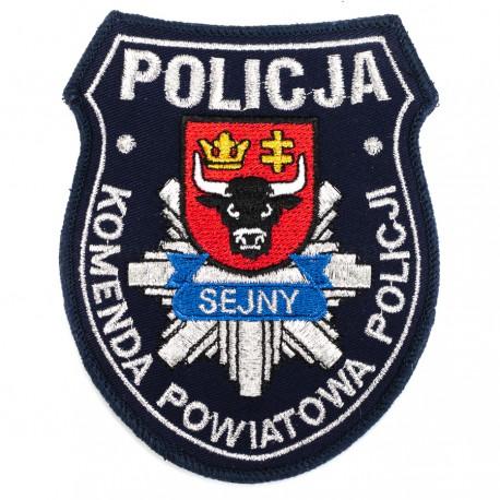 Emblemat Komenda Powiatowa Policji Sejny