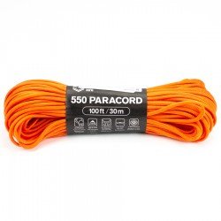Linka Paracord Atwood Rope MFG 550 Brunt Orange 100ft