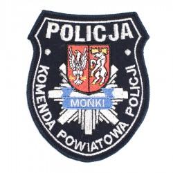 Emblemat Komenda Powiatowa Policji Mońki