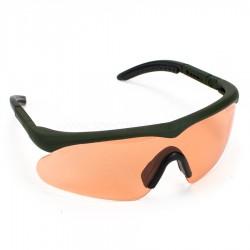 Okulary Swiss Eye Raptor olive zestaw