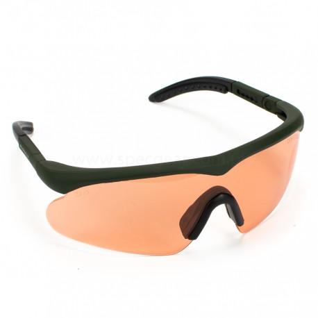 Okulary Swiss Eye Raptor olive/smoke