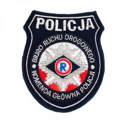 Emblemat Komenda Główna Policji Biuro Ruchu Drogowego