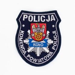 Emblemat Komenda Powiatowa Policji Koło