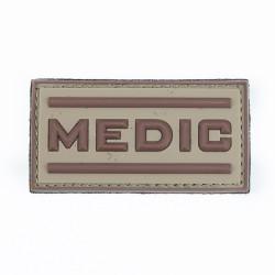 Naszywka 3D Medic desert