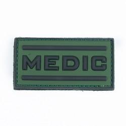 Naszywka 3D Medic green