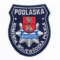 Emblemat Podlaska Komenda Wojewódzka Policji