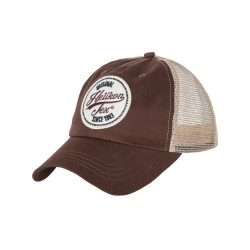 Czapka Helikon-Tex Trucker Logo Cap Cotton Twill Mud Brown